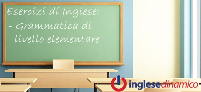 Esercizi Inglese Di Livello Elementare: Le Migliori Risorse