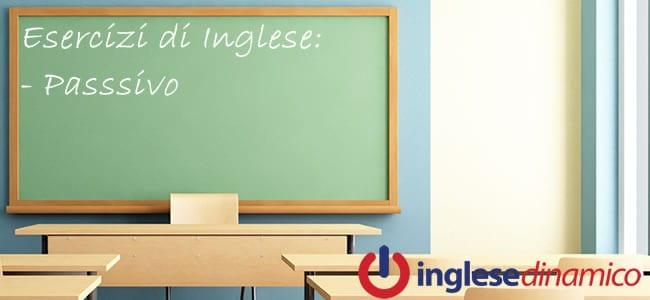 Esercizi Sul Passivo Inglese: La Guida Completa