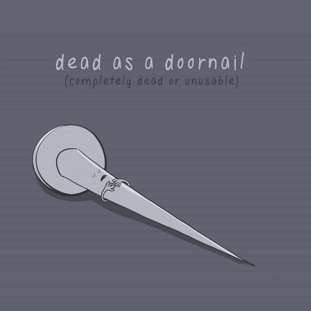 dead-as-a-doornail