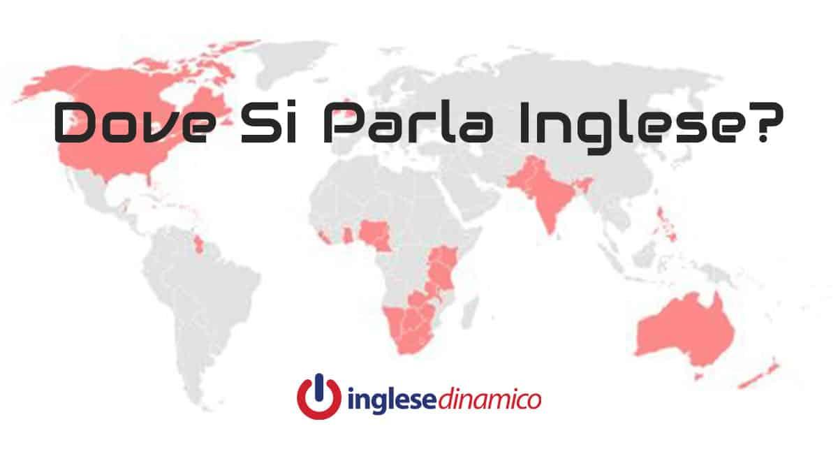 Cartina Europa In Inglese.Paesi Dove Si Parla Inglese La Lista Inglese Dinamico