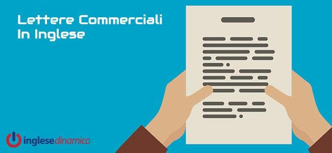 Lettere Commerciali In Inglese: Vediamole