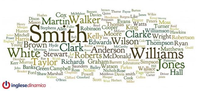 Cognomi Inglesi: I Più Diffusi
