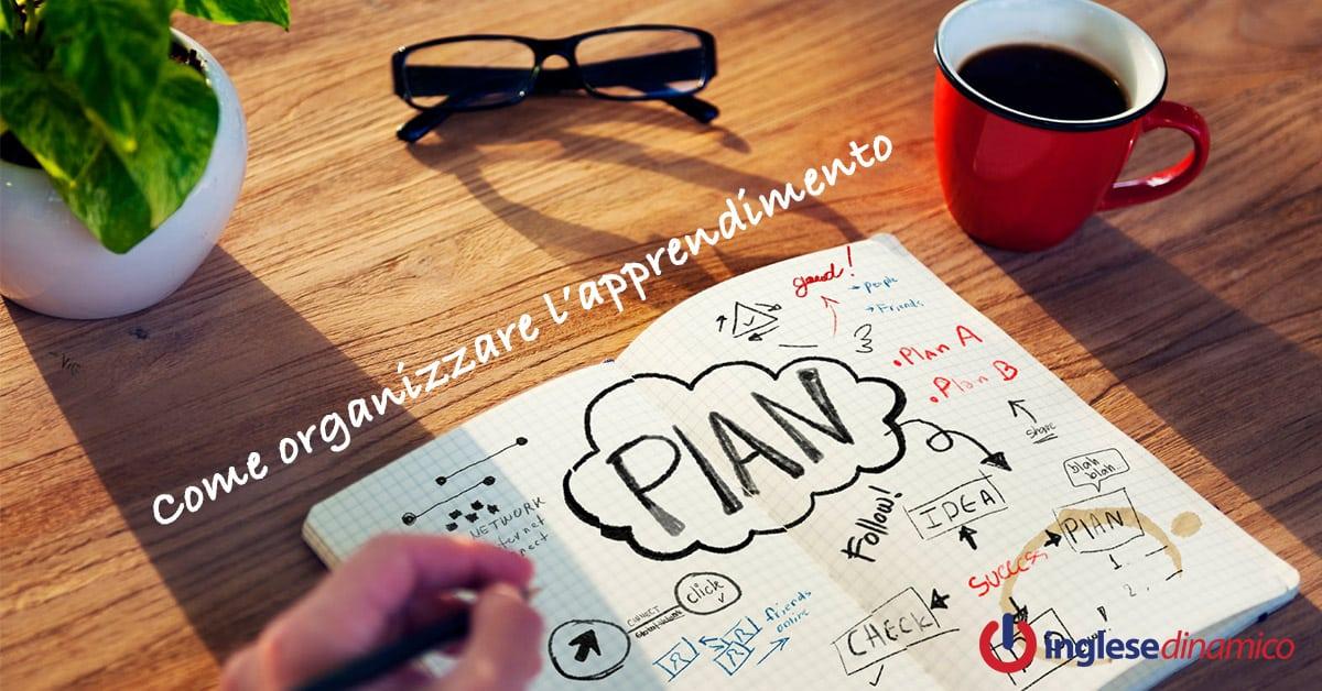 organizzare apprendimento
