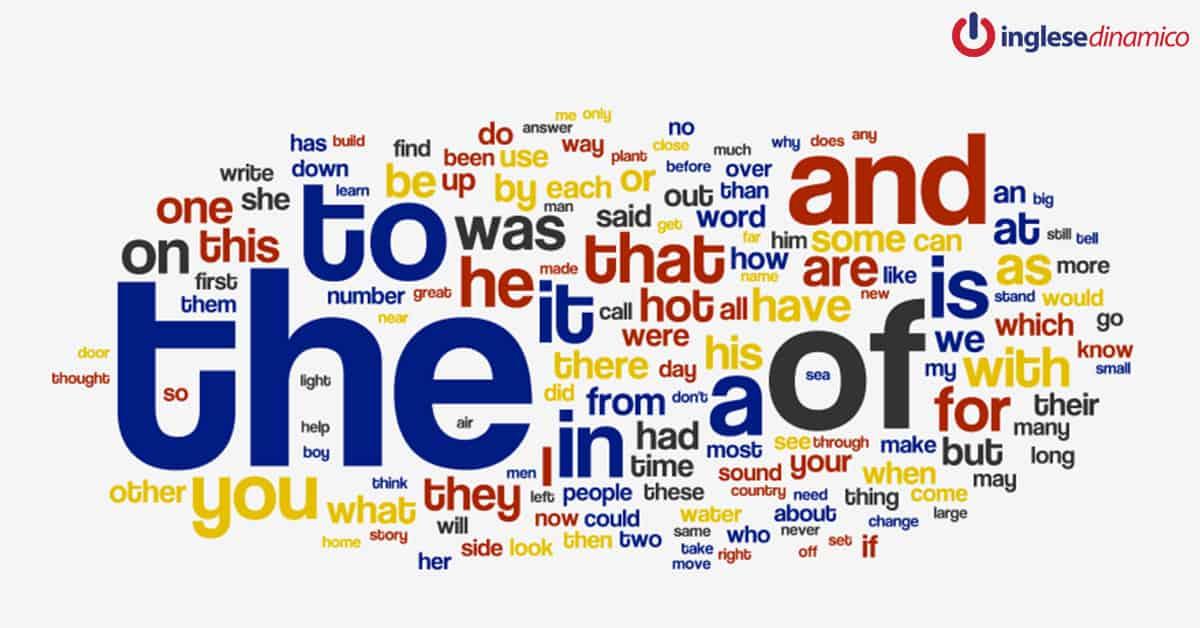 parole più utilizzate in inglese