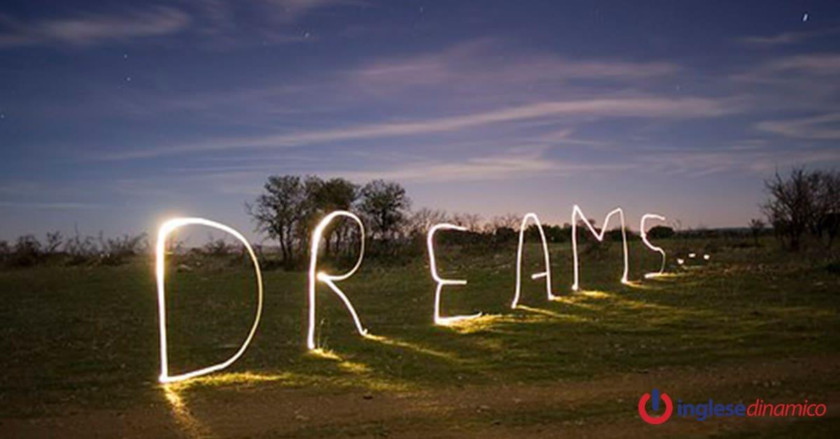 sognare in inglese