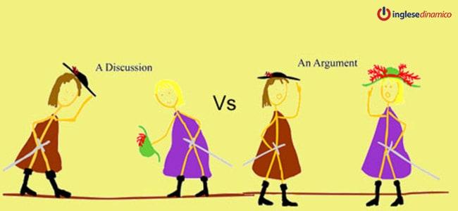 Differenza fra Argument e Discussion: quale?