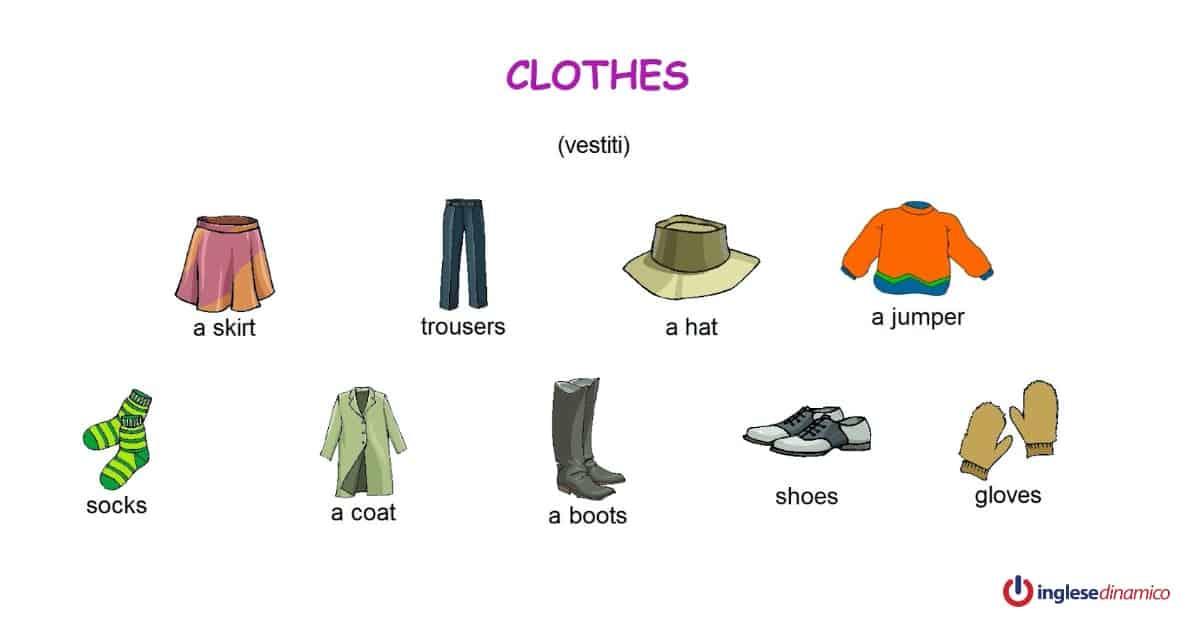 Vestiti Eleganti In Inglese.Come Descrivere I Vestiti In Inglese Inglese Dinamico