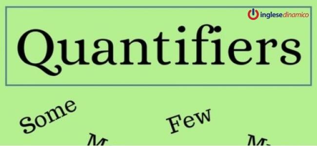 I quantificatori in inglese