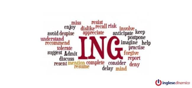 L'uso del gerundio inglese dopo i verbi